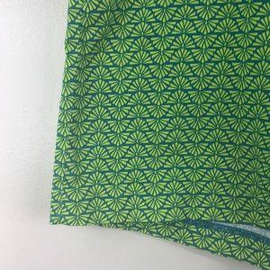 Laundry By Shelli Segal Shorts - Laundry by Shelli Segal Green Geometric Shorts